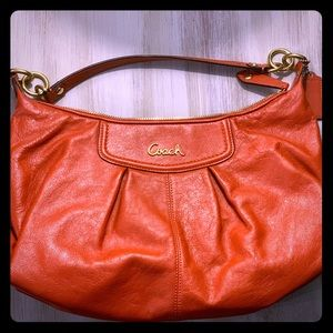 New, never used, Coach leather purse